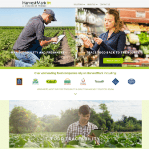 HarvestMark (Acquired by Trimble) Logo
