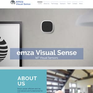 Emza Visual Sense Logo
