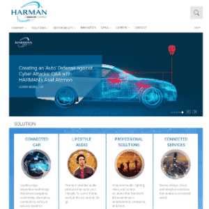 Harman International Industries (Acquired by Samsung) Thumbnail