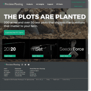 Precision Planting (Acquired by Monsanto then sold to Agco) Logo