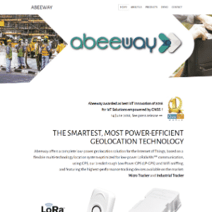 Abeeway (Acquired by Actility) Logo