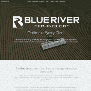 Blue River Technology (Acquired by John Deere) Logo