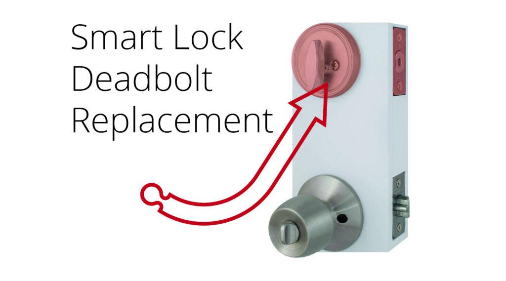 smart deadbolt lock featured