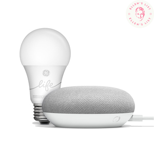 Google Home Mini and Light