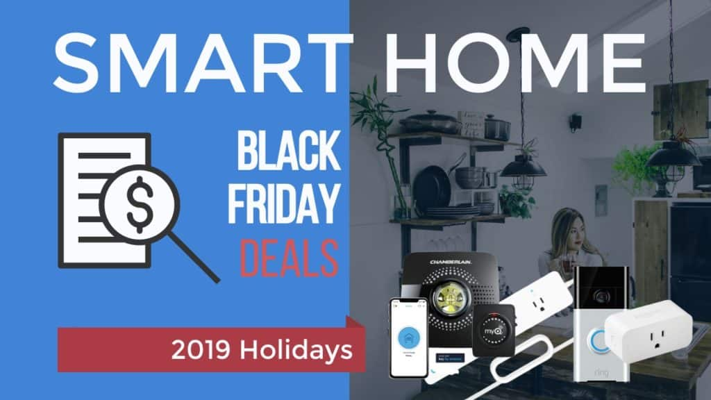 Smart Home Black Friday Banner