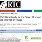IPv6 Gets Ready for the Smart Grid and the Internet of Things Featured Image