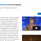 Videos from the IOT 2011 Budapest Conference Featured Image