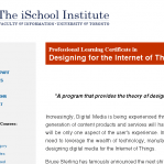 Professional Certificate in Designing for the Internet of Things Featured Image