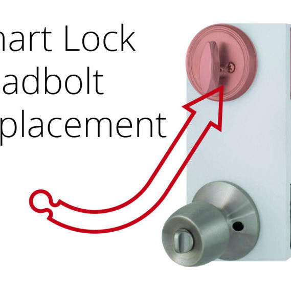 smart deadbolt lock featured